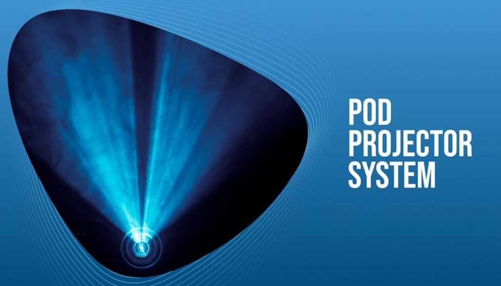 Pod-Projector-System